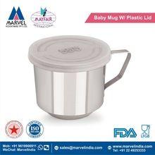Baby Mug With Plastic Lid
