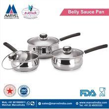 Belly Sauce Pan With Bakelite Handle