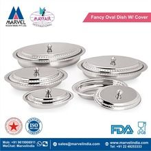 Fancy Oval Serving Dish