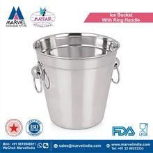 Ice Bucket With Ring Handle