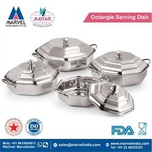 Octangle Serving Dish With Cover