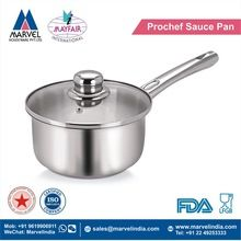Prochef Sauce Pan With Ss Handle And Glass Lid