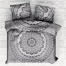 Indian Ombre Mandala Bedding Set
