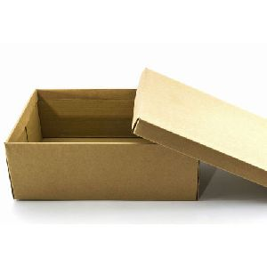 Plain Shoe Corrugated Box