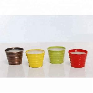 Metal Jar Paraffin Wax Candle