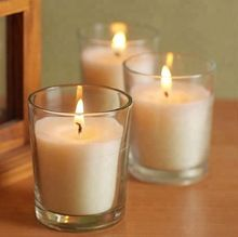 Plain Glass Simple Soy Wax Candle