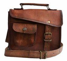 mens Leather side Sling Bag