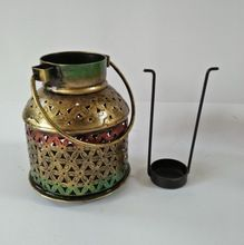Metal Candle Jar