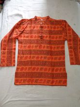 indian kurta om printed