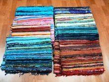 Multi Colours Cotton Durries