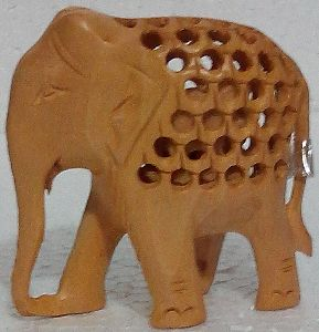 Wooden Elephant Undercut