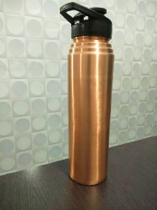 Copper bottle with sipper