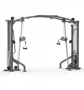 Body Solid Deluxe Cable Crossover Gym Equipment