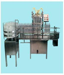 Automatic Four Head Bottle Liquid Filling Machine