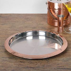 Polish Mirror Shiny Stainless Steel Bar Tray