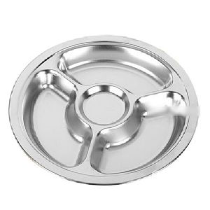 Stainless Steel Dinner Plates With Handles
