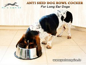 Anti Skid Dog Bowl