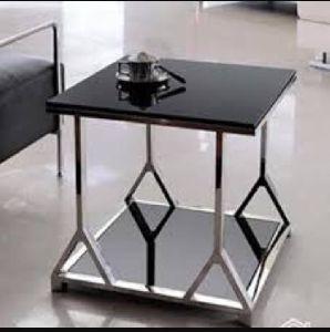 Steel Corner Table