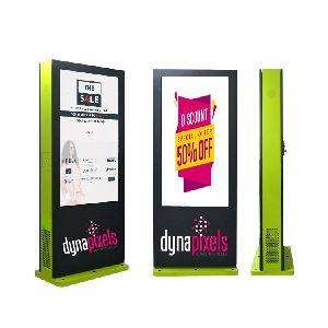FREE STANDING DIGITAL SIGNAGE LCD DISPLAY