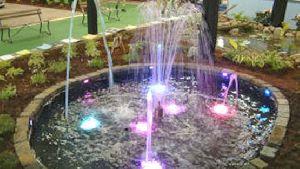 Flower Jet Fountains