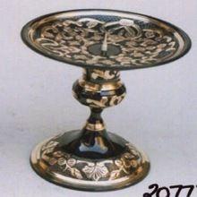 Brass Hurricane Candle Holder