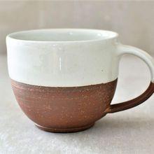 Tea cup glass designer pottery