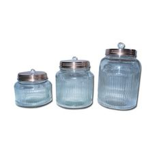 Glass Storage Container Jar