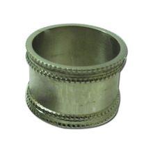 Metal wedding napkin ring