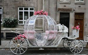 Cindrella Horse Carriage