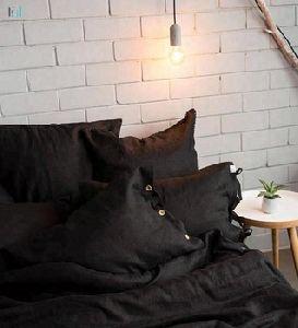 Natural Color softened Linen bedding
