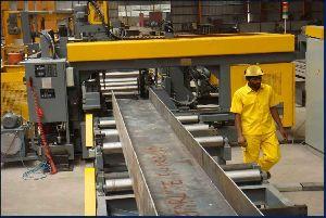 H Beam Drilling Machine