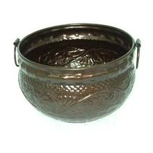 Dark Bronze Garden Planter Pot