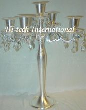 Candelabra With Crystal Attachment