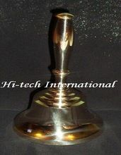 Polished Brass Hand Bell