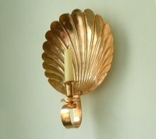 Brass Candle Wall Sconce