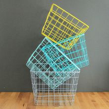 Colourful Metal Wire Basket