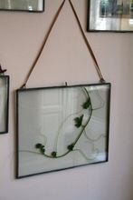 Hanging Glass Picture Frame