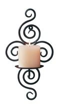 Vertical Wall Hanging Candle Holder Sconce