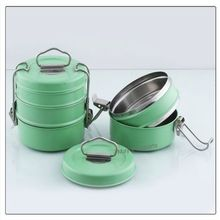 Stainless Steel Colored Tiffin Lunch Box