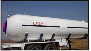Double Axle Lpg Bob Trailer With Tanker