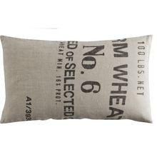 Retro Design Cushion With Alfabet