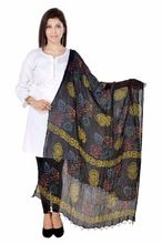 Black Color Printed Dupatta