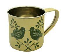 Bird Stainless Steel Beer Mug