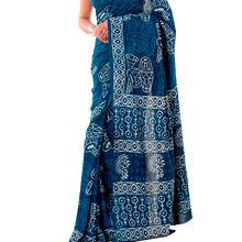 Hand Printed Wedding Sari