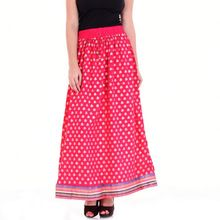 Long Skirt Rayon Fabric
