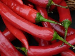 raw red chilli