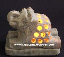 Decorative Stone Candle Lamp