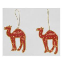 Handmade Christmas Camel Ornaments