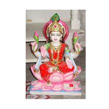 Handmade Marble Laxmi Statue