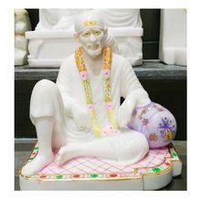 Marble Dwarkamai Shirdi Sai Baba Statue